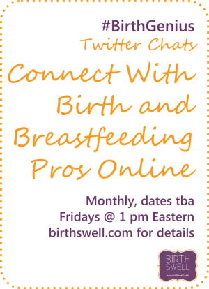 Post image for BirthGenius Twitter Chat – Connecting to the 2.0 Mom
