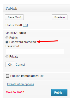 how to make your page password protected image 2